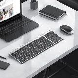 Rechargeable Wireless Keyboard Mouse Ultra-slim