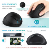 Vertical Wireless Mouse