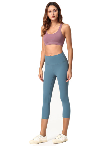 SPEEDGYM Women Sports Yoga Pants 7 Minutes of Pants KZ-W001 Leggings