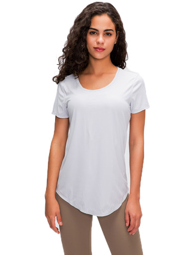 SPEEDGYM Women Sports Yoga T-Shirts Tops DX-2031