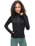 SPEEDGYM Women Sports Jackets Long sleeve zip shirt JK-19087
