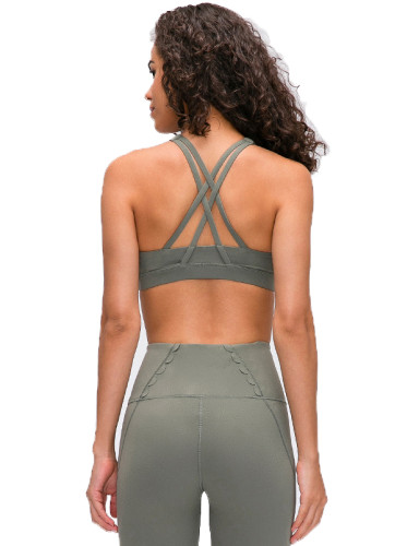 SPEEDGYM Women Sports Yoga Bras  WX-19111