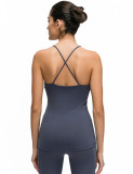SPEEDGYM Women Sports Yoga Sleeveless Tank Tops Leisure vest BX-19092
