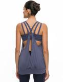 SPEEDGYM Women Sports Yoga Sleeveless Tank Tops Leisure vest BX-19078