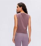 SPEEDGYM Women Sports Yoga Sleeveless Tank Tops Leisure vest BX-2003