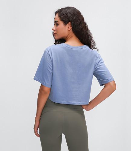SPEEDGYM Women Sports Yoga T-Shirts Tops DX-2004