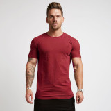 SPEEDGYM Men's Sports Fitness T-Shirts Outdoors Tops DX-N001