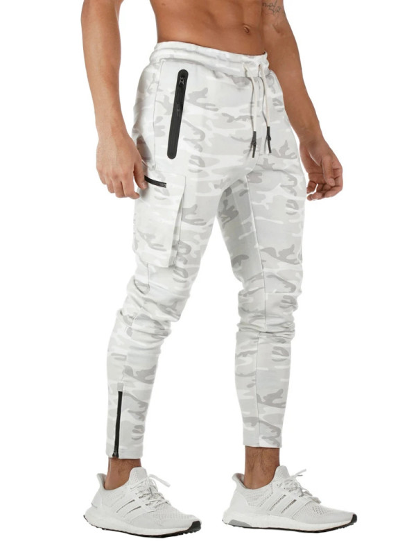 SPEEDGYM Men's Sports Fitness Pants Outdoor Cargo Pants KZ-M001