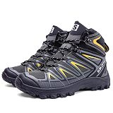 Waterproof non-slip high-top outdoor hiking shoes