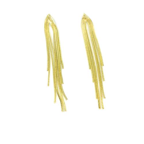 Gold Tassel Earrings 2006066