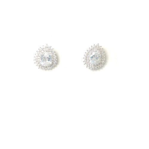 Zircon Stud Earrings 2006084