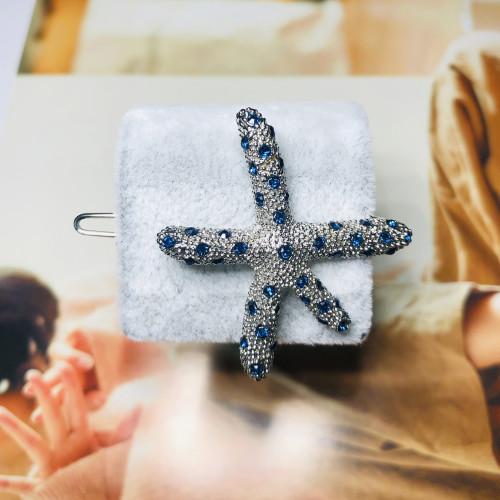 Starfish of Crystal Hair Clips 201106