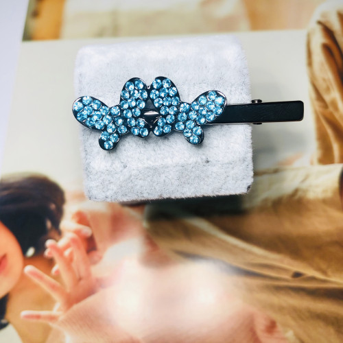 Blue Butterfly of Crystal Hair Clips 201110