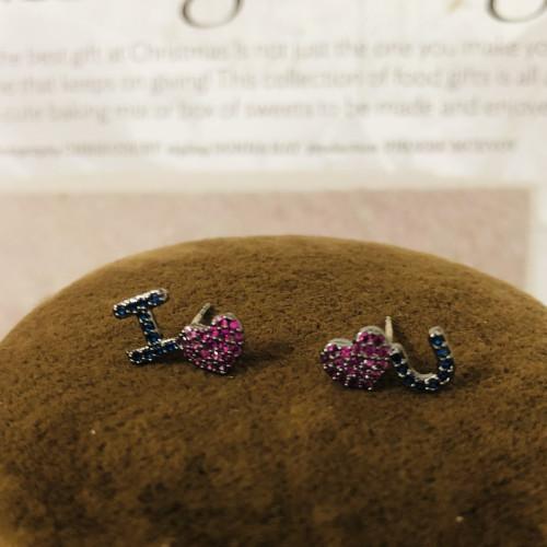 I love you Fashion Style Stud Earrings 2011175