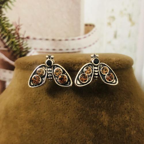 Glowworm of Crystal Fashion Style Stud Earrings 2011212