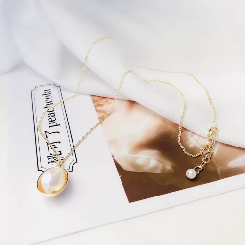 Eggs of Freshwater Pearl Elegant Style Necklace PR2012008