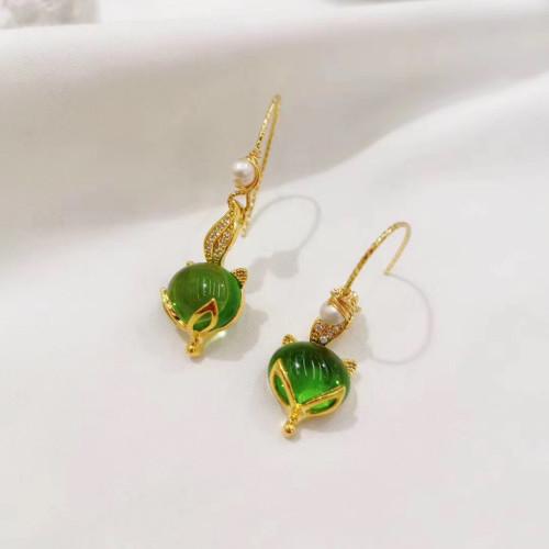 Fox of Opal Elegant Style  Drop Earrings PR2012025