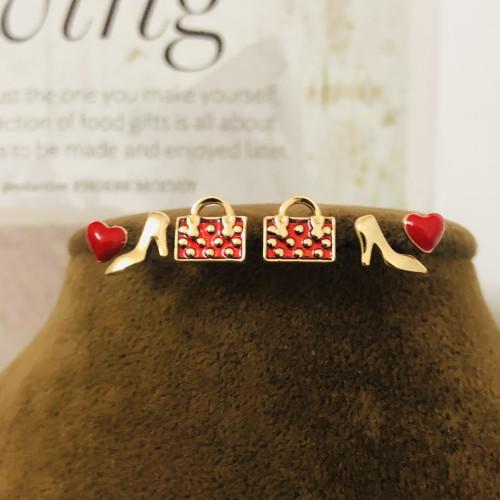 Red Girls Love Earrings Set 2006029