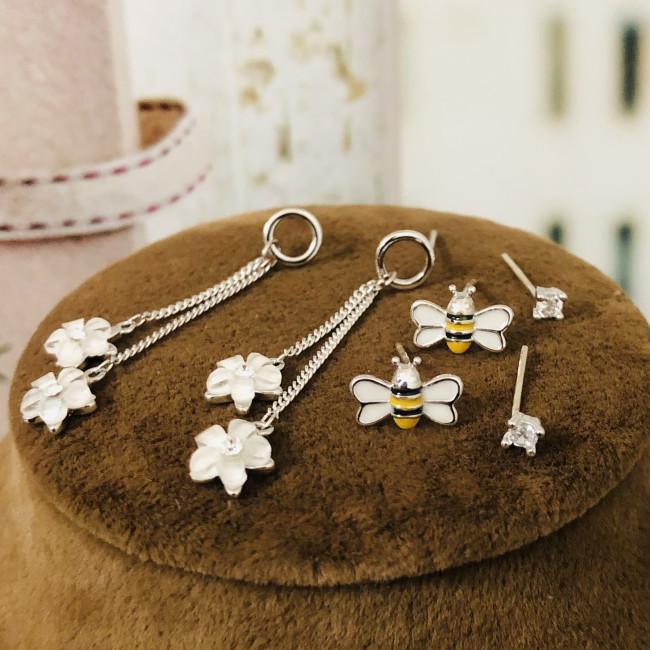 Bee Flower Earrings Set ES2012010