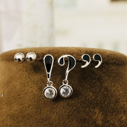 Punctuation Earrings Set ES2012008