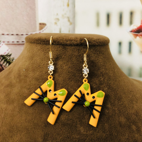 Yellow Mouse Fashion Style Drop Earrings 2012008