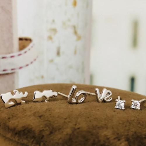 Love Boy and Girl Earrings Set ES2012004