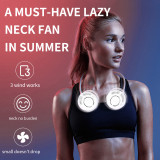 A MUST-HAVE LAZY NECK FAN IN SUMMER