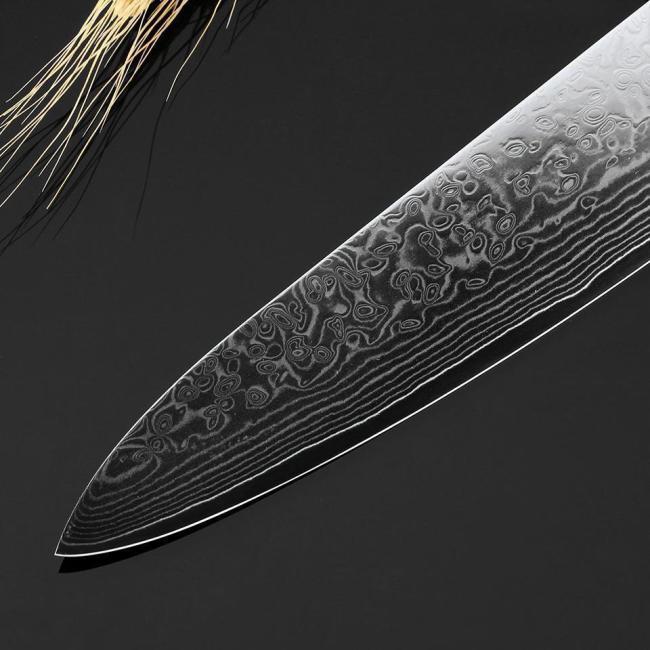 Damascus Chef Knife 2 PCS Kitchen Knives Set