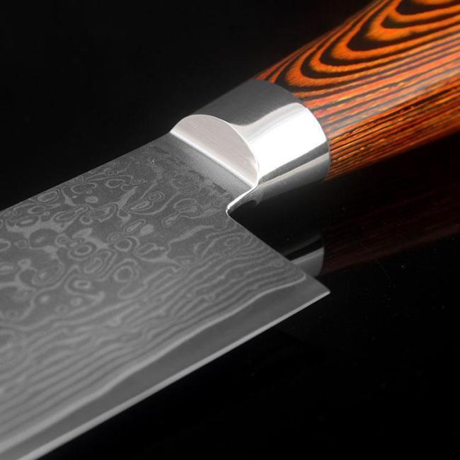 3 pcs kitchen knives set Japanese Damascus steel kitchen knife