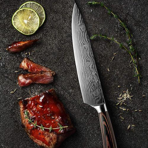 High carbon stainless steel Japanese Knife set
