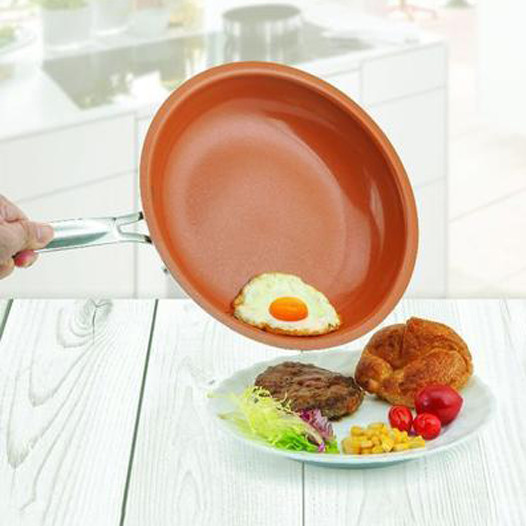 NON-STICK COPPER/CERAMIC FRYING PAN