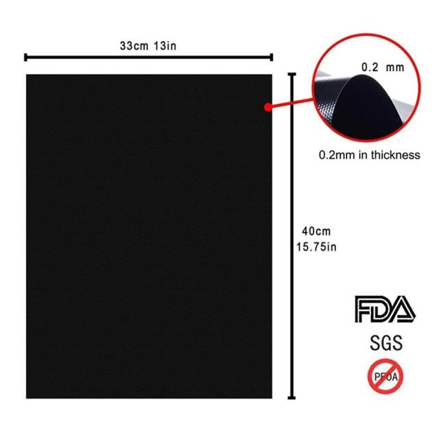 Reusable Non-Stick BBQ Grill Mat Pad Baking Sheet