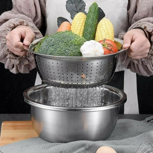 Multifunctional stainless steel basin-Buy 2 free shipping & get 10% off