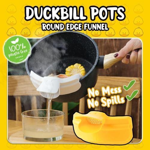 Duckbill Pots Round Edge Funnel