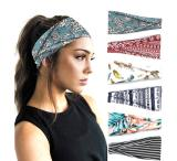 INSTASTYLE 6 Pack Women's Yoga Running Headbands Sports Workout Hair Bands
