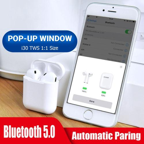 I30 tws Pop-up Wireless Earbuds