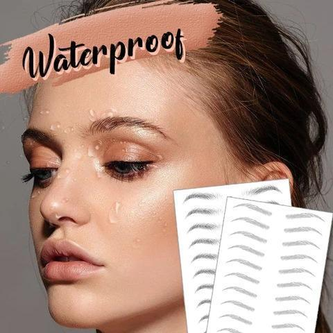 4D waterproof Eyebrows beauty tool
