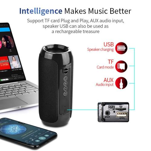 Outdoor Portable Fabric Waterproof Bluetooth Speaker