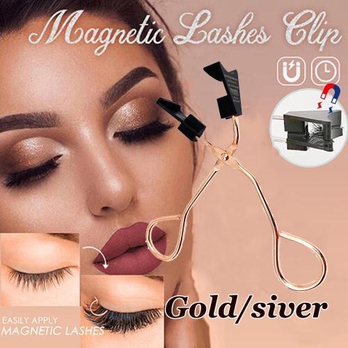 Magnetic eyelash clip