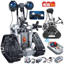 Remote control intelligent robot building block toy