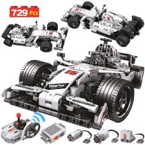 729PCS City Remote Control Car Building Blocks