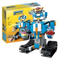 Building block technology remote control robot