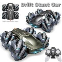 Remote Control 360degree Rotation Stunt Drift Cars 4wd Off-road Vehicle Children Toy Gift
