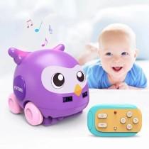 Cartoon Animal Car Hand Control Induction Following RC Car for Babies