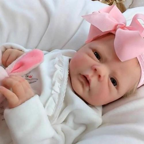 Realistic 20''Reborn Silicone Baby Doll Girl Gift(Free Shipping Worldwide)