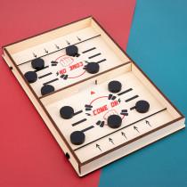 Fast Hockey Sling Puck Game Sling Puck Winner Fun Toys Board-Game