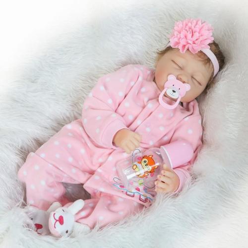 Realistic 20''Reborn Baby Doll Girl Gift Nancy