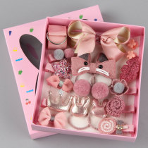 18pcs/set Girls Headwear Set Toys, Children Beauty Accessories
