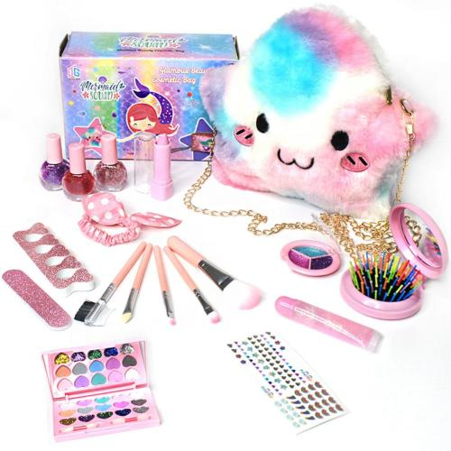 My First Bag, Furry Twinkle Girl Pretend Play Makeup Handbag