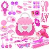 【My Purse】Pink Princess Beauty Bag Girl Makeup Pretend Play Toy